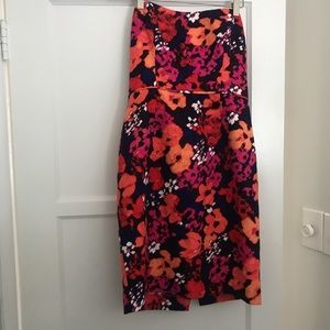 Shoshanna Floral Print Dress
